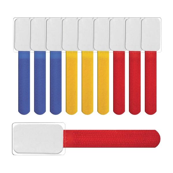 Label-the-cable Kabelbeschriftung mit Klettband, Klettbinder (Klettverschluss) mit , Ka