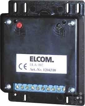 Elcom Türelektronik ELA-402 B75 H99 T27 mm Türlautsprecher 4250111820585