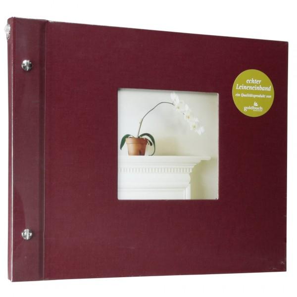 Goldbuch Bella Vista bord. 30x25 Schraubalbum 40 schwarze S