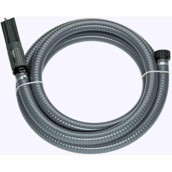 Gardena 1418-20 Sauggarnitur für Pumpen, Anschlussfertig, Spiralschlauch vakuumfest, Saugfilter inte