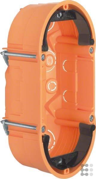 Berker Hager–Caja Empotrar Oval TS für Hohlwand