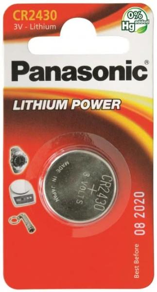 Panasonic Lithium-Knopfzelle CR2430 3V