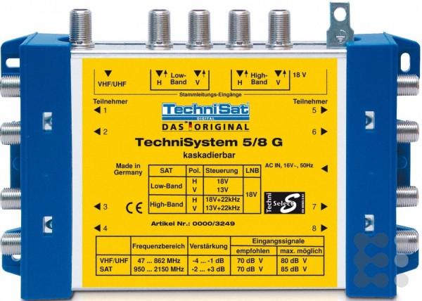 TechniSat TechniSystem 5/8 G2 Multischalter inkl. Netzteil
