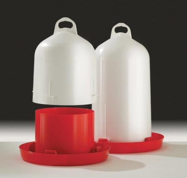 Tränke Kunststoff Doppelz. 12l für Hühner