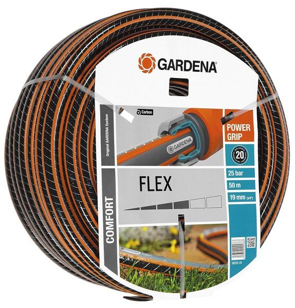 """Gardena 18055-20 Comfort FLEX Schlauch 9x9, 19 mm (3/4""""), 50 m, ohne Systemteile"""