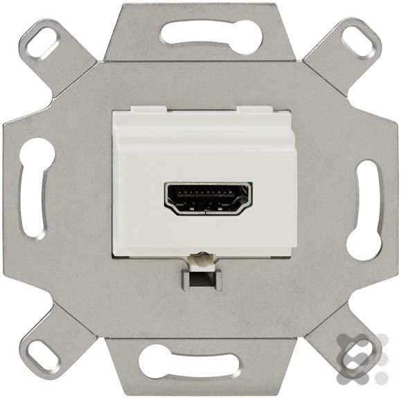 Rutenbeck HDMI-Anschlussdose 1-fach, KM Up 0 rw, 17010553