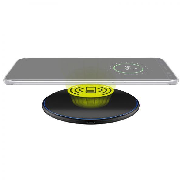 Qi Induktive Ladestation 10W Ladegerät Wireless Charger Kabellos Ladeadapter