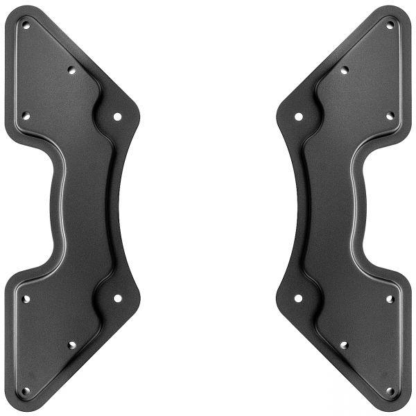 deleyCON VESA Adapter für Wandhalterungen 200x200 auf 300x300, 400x200, 400x400