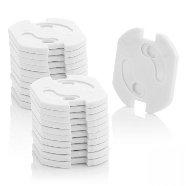 deleyCON 20x Kindersicherung Steckdosen Steckdosenschutz Steckdosen Kinderschutz
