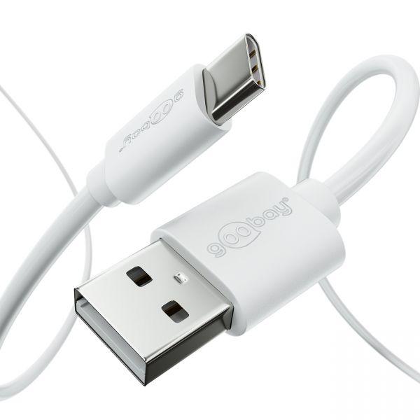 2m USB C Ladekabel 3A SCHNELL Laden Datenkabel USB Kabel C-Stecker Handy Tablet