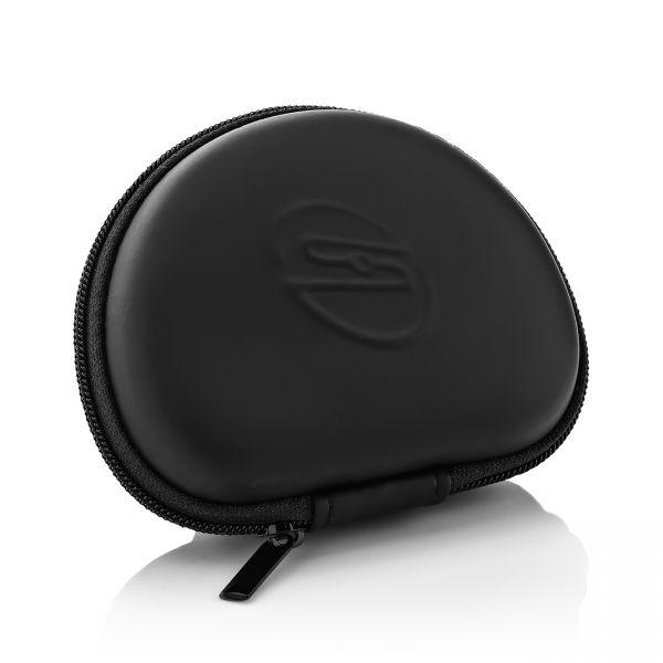 deleyCON Universal Kopfhörer-Tasche Case für In-Ear Ohrhörer - integriertes Fach