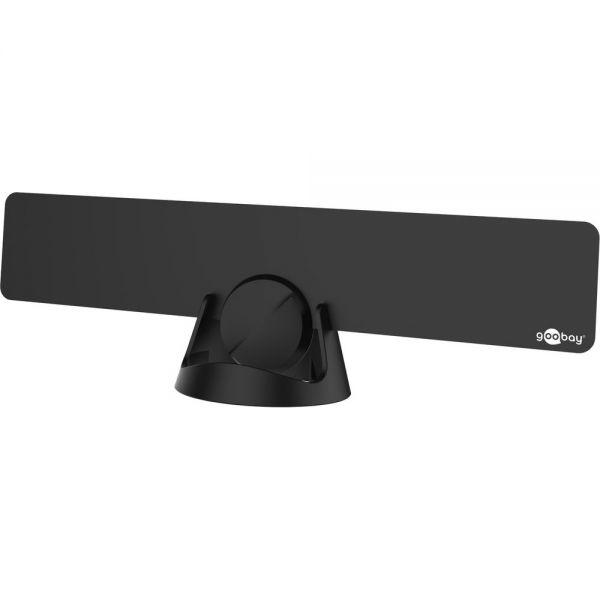 Aktive DVB-T Antenne DVB-T2 Zimmerantenne 30dB Verstärker FULL HD 4G LTE Filter
