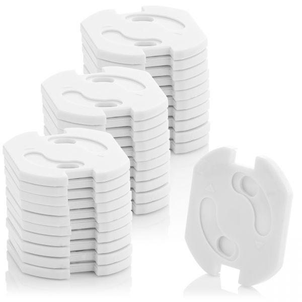 deleyCON 30x Kindersicherung Steckdosen Steckdosenschutz Steckdosen Kinderschutz