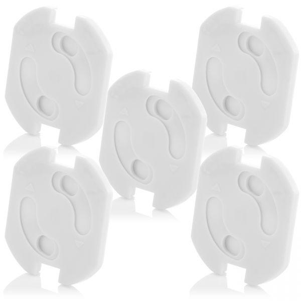 deleyCON 5x Kindersicherung Steckdosen Steckdosenschutz Steckdosen Kinderschutz