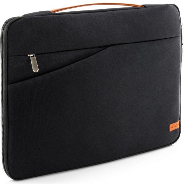 """deleyCON Laptop Tasche bis 17"""" Zoll (43,2cm) Notebook Netbook MAC Schwarz"""