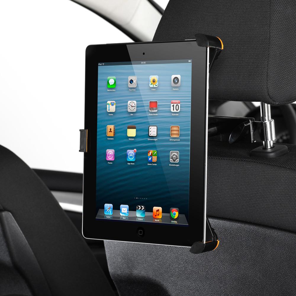 universal tablet halter auto kfz kopfst tzen halterung. Black Bedroom Furniture Sets. Home Design Ideas