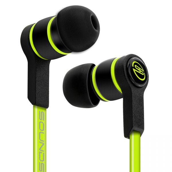 SOUNDSTERS S18 - Extrem leichte In-Ear Kopfhörer für alle Mobilgeräte - Grün
