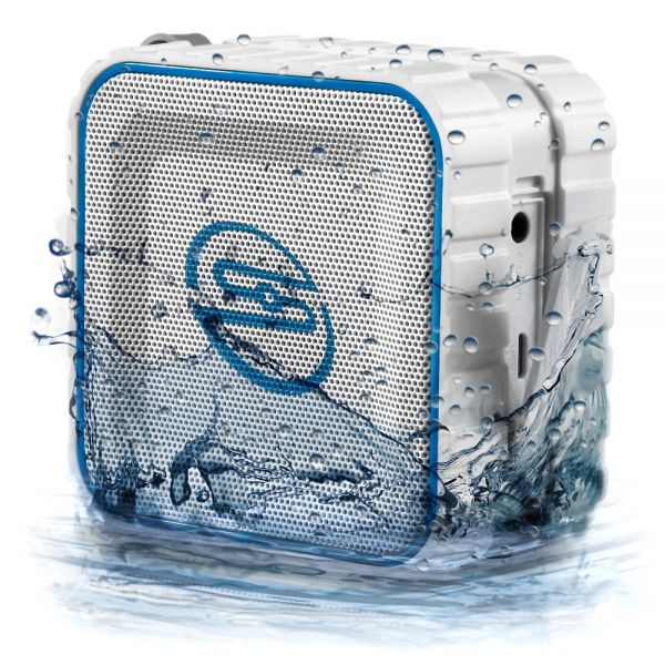 SOUNDSTERS rocktank mini BT - mini BlueTooth Lautsprecher Box Kabellos - Weiß
