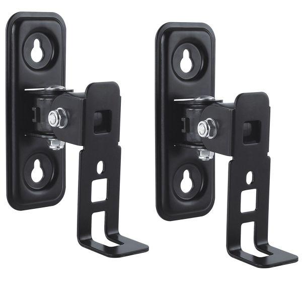 deleyCON 2 Lautsprecher Halterung für SONOS Play 1 schwenk- dreh- neigbar Black