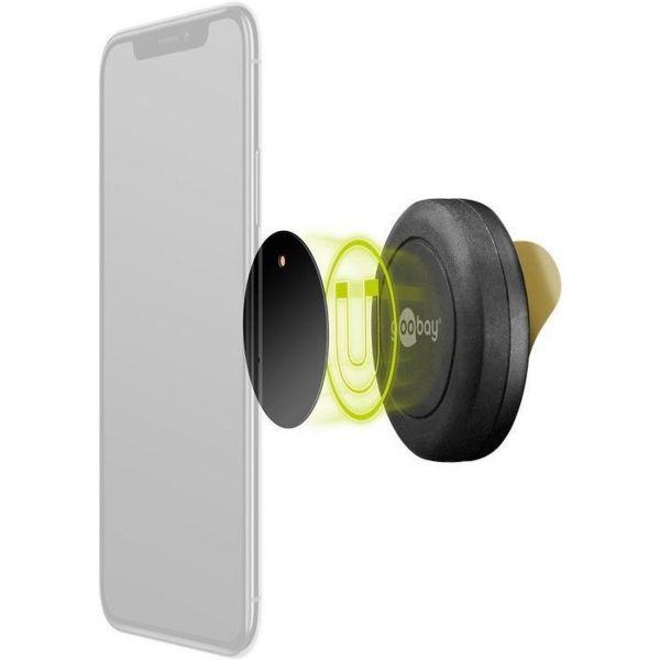 auto kfz magnet handy halterung selbstklebend smartphone. Black Bedroom Furniture Sets. Home Design Ideas