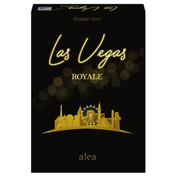 Image of ALEA Las Vegas Royale, d/f ab 8 Jahren, 2-5 Spieler, Zockerspiel