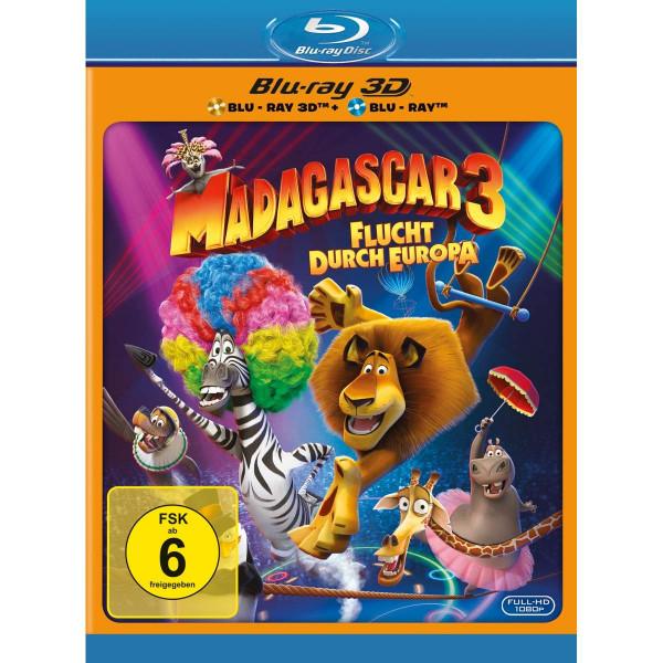 Madagascar 3 Flucht Durch Europa 3Dbd