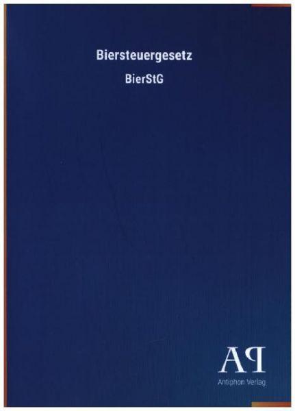 Image of Biersteuergesetz