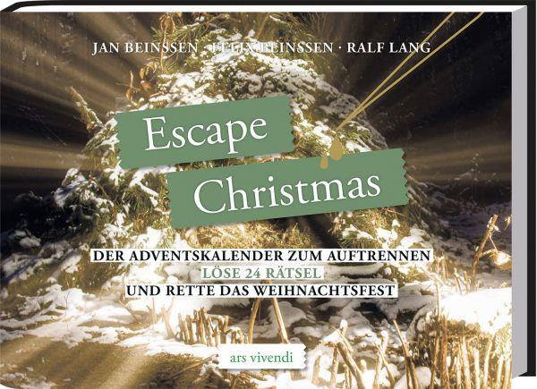 Image of Escape Christmas: Der Adventskalender zum Auftrennen - Löse 24 Rätsel und rette das Weihnachtsfest