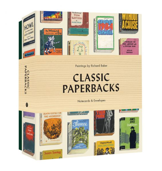 Image of Classic Paperbacks Notecards and Envelopes