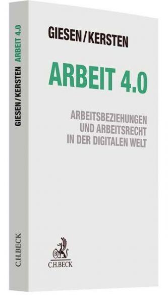 Image of Arbeit 4.0: Arbeitsbeziehungen und Arbeitsrecht in der digitalen Welt
