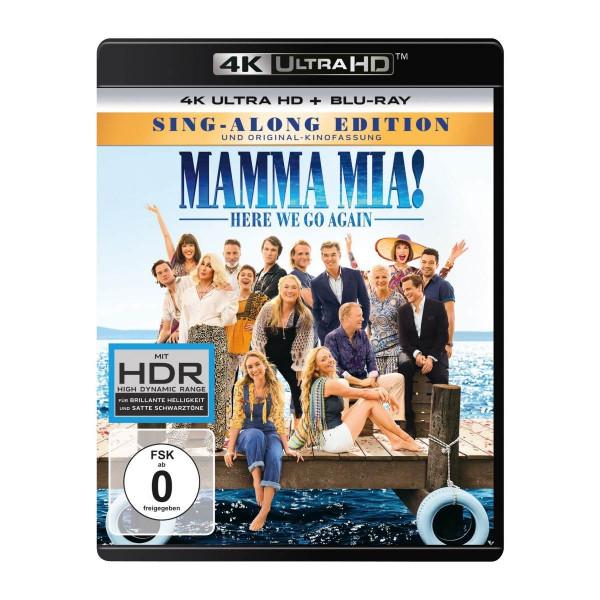 Mamma Mia! Here We Go Again 4K Uhd