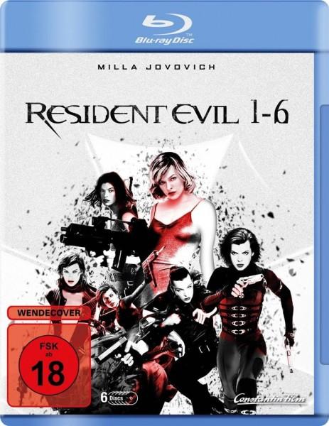 Resident Evil 1-6 - BR