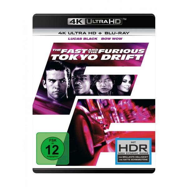 The Fast And The Furious:Tokyo 4K Uhd