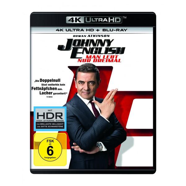 Johnny English Man Lebt Nur 3X 4K Uhd