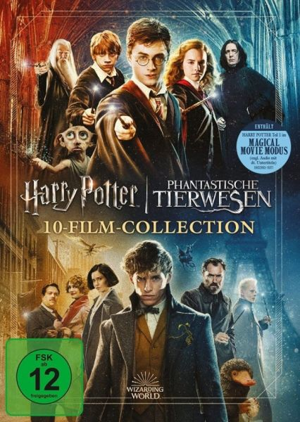 Wizarding World 10-Film-Collection - Jubiläums-Edition - Magical Movie Mode
