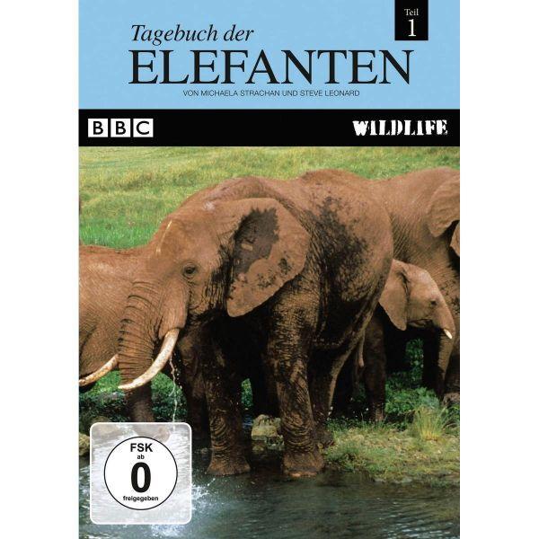 BBC Wildlife: Tagebuch der Elefanten (Teil 1)