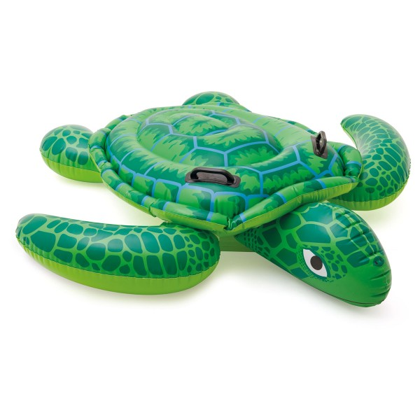 INTEX Aufblastier Schildkröte 150x127 cm, 2 Griffe, ab 3 Jahren