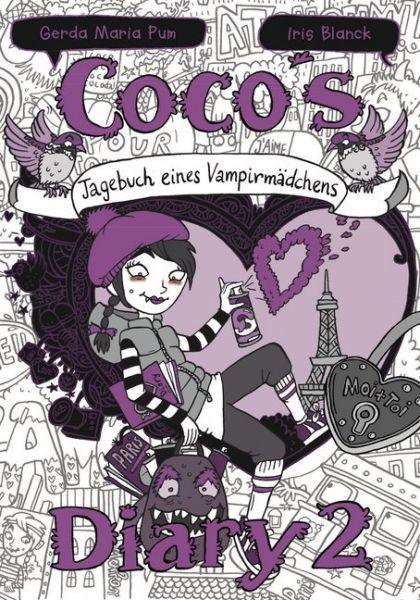 Image of Coco's Diary - Tagebuch eines Vampirmädchens. Bd.2: Comic Roman für Mädchen
