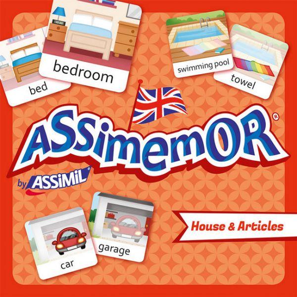 Image of Assimemor, House & Articles (Kinderspiel): Das kinderleichte Englisch-Gedächtnisspiel von ASSiMiL