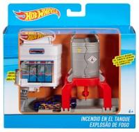 Mattel Hot Wheels Mittleres Spielset zum Ausklappen weiss