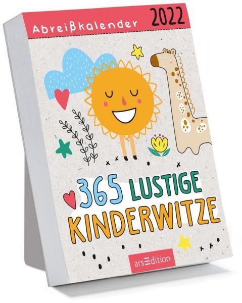 Image of Abreißkalender 365 lustige Kinderwitze 2022