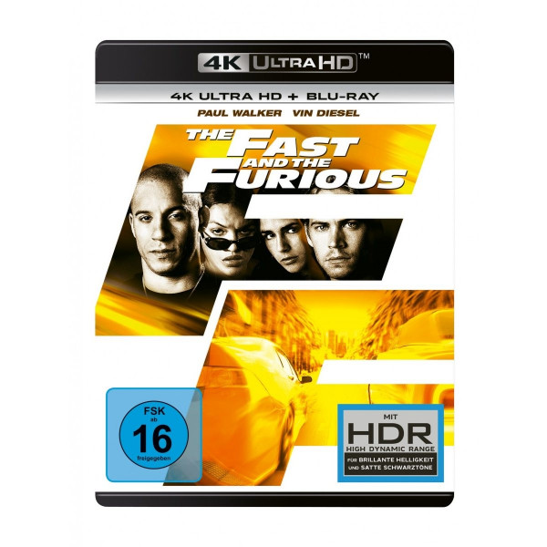 The Fast And The Furious 4K Uhd