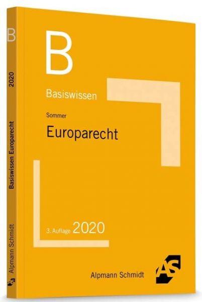 Image of Basiswissen Europarecht