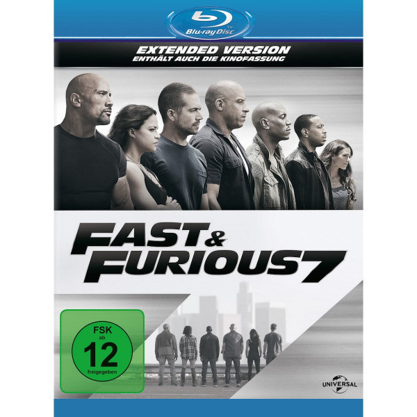 Fast & Furious 7 Ext. Version