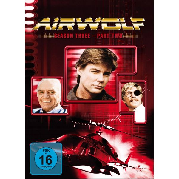 Airwolf Season 3.2 3Er Repl.