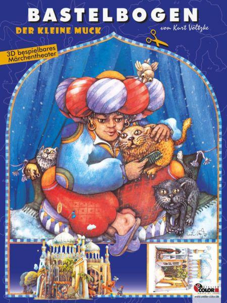 Image of Der kleine Muck Bastelbogen: Märchentheater aus 1001 Nacht mit Palast und Bazar zum Basteln für Kind