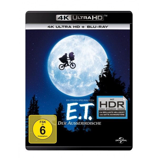 E.T. - Der Ausserirdische - 4K Uhd