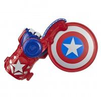 NERF Power Moves Marvel Avengers Captain America Schild