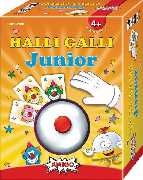 Image of Halli Galli Junior (Kinderspiel): Ausgezeichnet mit dem Kinderspielpreis 'spiel gut'