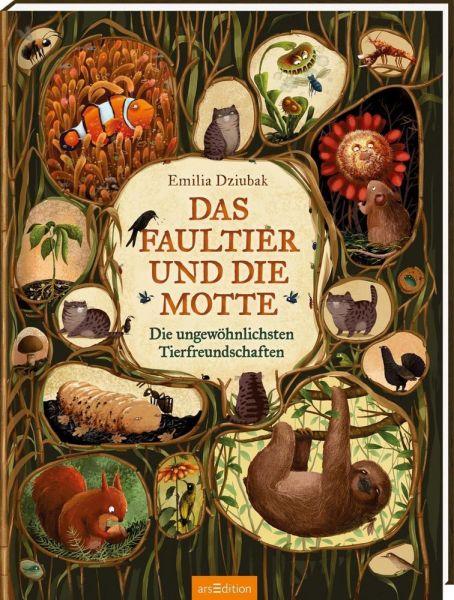Image of Das Faultier und die Motte: Die ungewöhnlichsten Tierfreundschaften